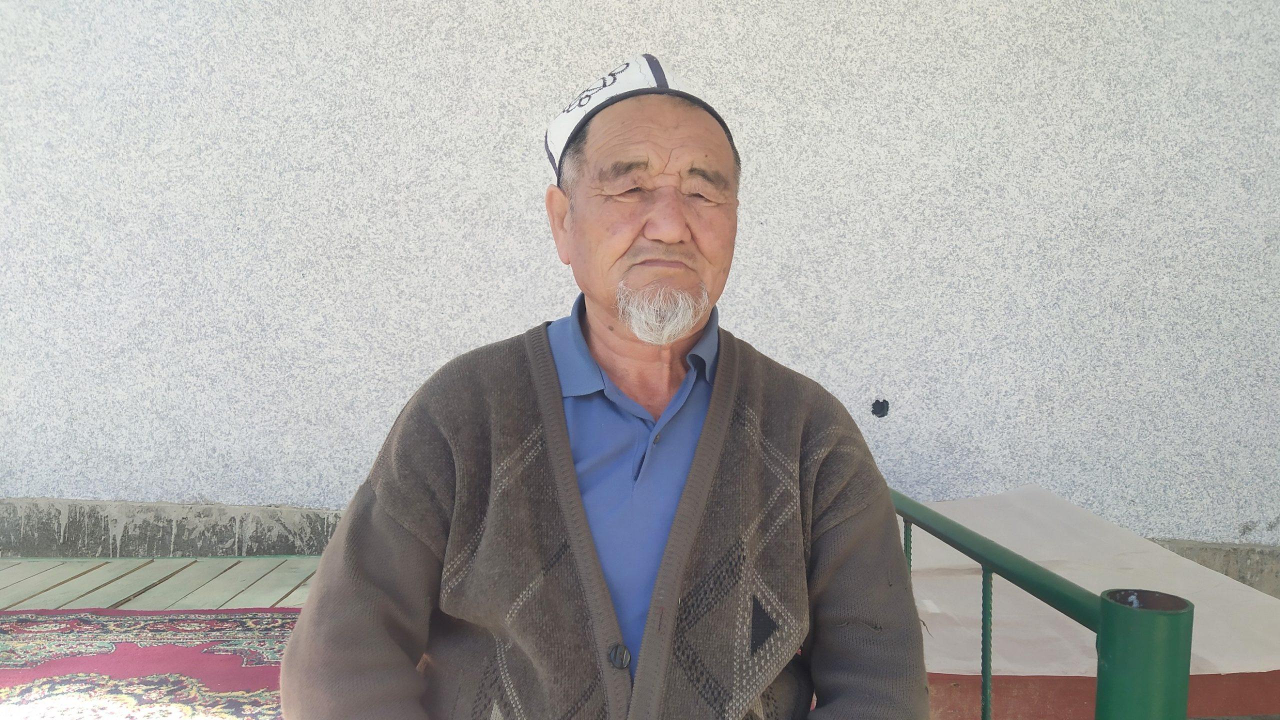 Абдыразаков Кожон, пенсионер, 73 жашта