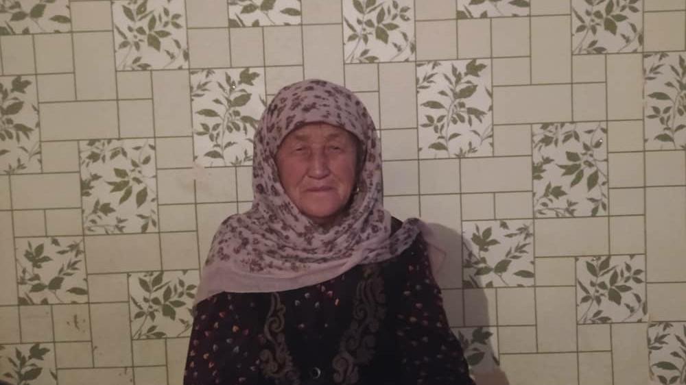 Асамидинова Орозгул, пенсионер, 82 жашта