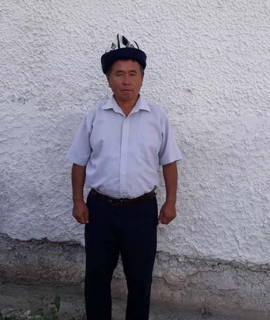 Сары-Булуң айыл аймагынын жооптуу катчысы Асылкерим Кыдыков