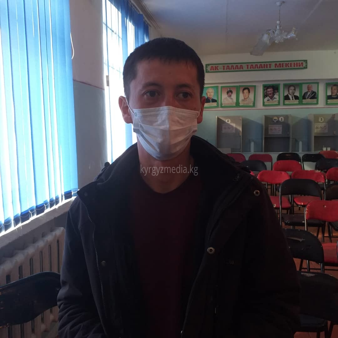 Жаштар уюмунун мүчөсү, активист Тимур Токторбек уулу