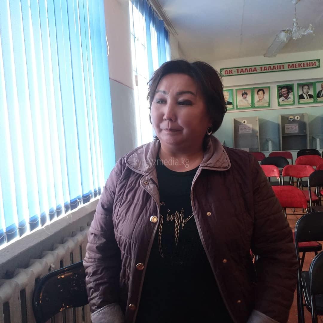 Аялдар кеңешинин мүчөсү, жарандык активист Айнура Султанмуратова