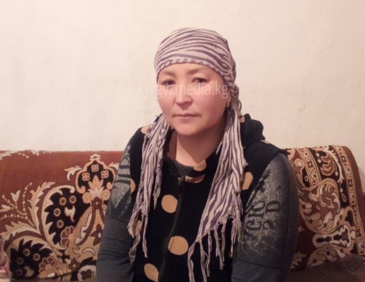 Төлөк айылынын тургуну Сайкал Дыйканбаева