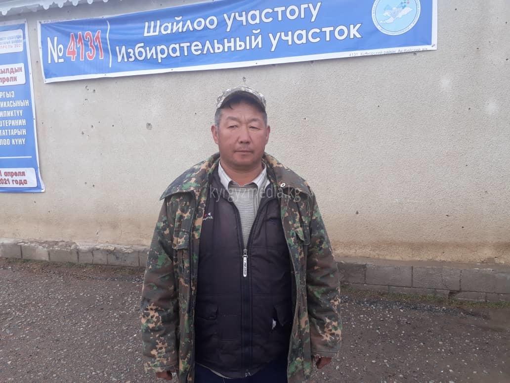 Анарбек Чалбаев, Кара- Суу айылынын тургуну