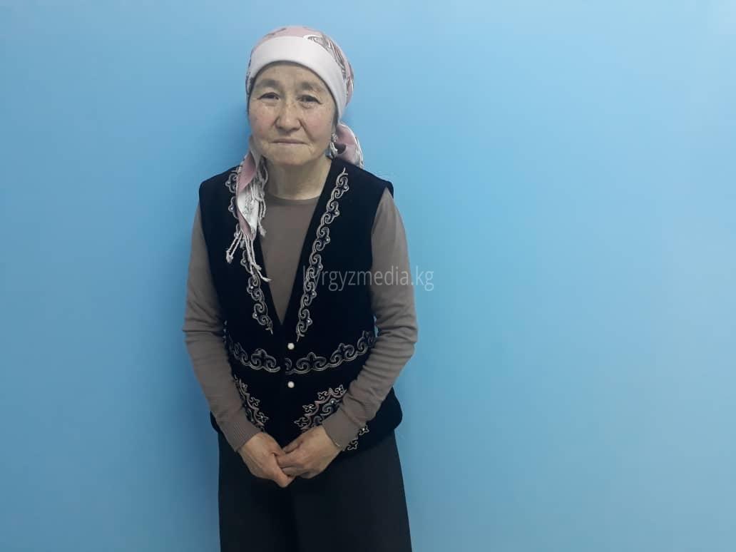 Зейнура Токтомаматова, Кара-Суу айылынын тургуну