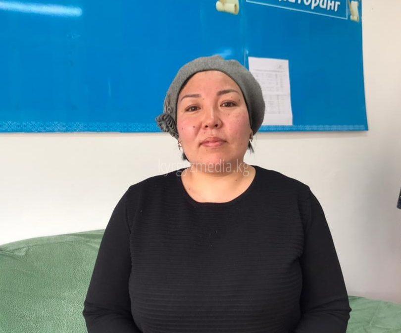 Оттук айылынын тургуну Мираида Ниязбек кызы