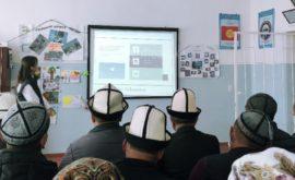 """Куу-Майдан айылында """"Шайлоо өнөктүгүндөгү медиа сабаттуулук"""" аталышындагы семинар болду"""