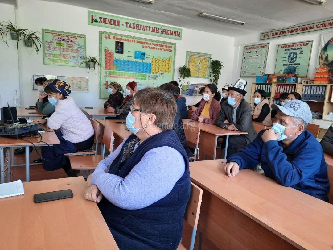 Белек айылында медиа сабаттуулукка арналган семинар болду