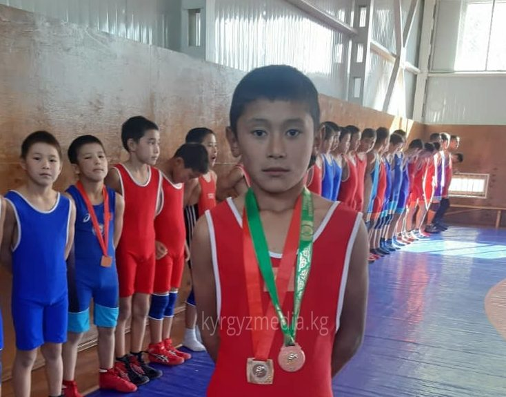 Спорт мектебинин окуучусу Риваят Абдулазисов